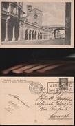 12107) GENOVA VIA XX SETTEMBRE E CHIESA S. STEFANO PONTE MONUMENTALE VIAGGIATA 1937 - Genova