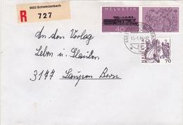 R-Brief Von Schwerzenbach (br0828) - Schweiz