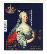 3333 Slowenien Slovenia 2017 ** MNH Block 300 Ann. Maria Theresia Theresa Habsburg Joint Croatia Austria Hungary Ukraine - Case Reali