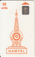 GAMBIA - Telecom Logo Orange(reverse 1), Second Issue 60 Units, Chip SC4, CN : 45318, Used - Gambia
