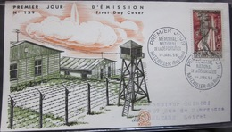 Enveloppe FDC 139 - 1956 - Déportation - Natzwiller - YT 1050 - France