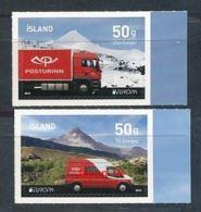 ISLAND Mi.NR 1394-1395 A Europa - Postfahrzeuge -2013- MNH - 2013