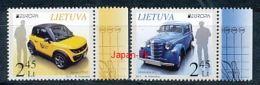 LITAUEN Mi.NR 1131-1132 Europa - Postfahrzeuge -2013 - MNH - 2013