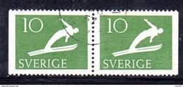 R103 - SVEZIA 1953 , Unificato Coppiola N. 372d  Usata