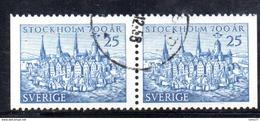 R90 - SVEZIA 1953 , Unificato Coppiola N. 376d  Usata