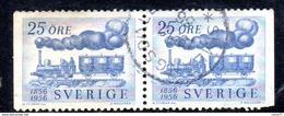 R94 - SVEZIA 1956 , Unificato Coppiola N. 412d  Usata