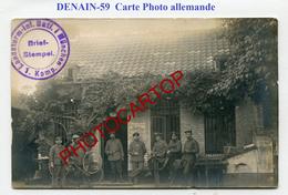 DENAIN-Magasin Des Fusils-Armurerie-CARTE PHOTO Allemande-Guerre-14-18-1 WK-France-59-Feldpost- - Denain