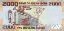 SIERRA LEONE P. 31a 2000 L 2010 UNC - Sierra Leone