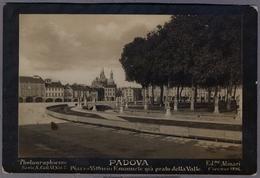Padova Piazza Vittorio Emanuel Gia Prato Della Valle Alinari Photo 1896y. D789 - Ancianas (antes De 1900)