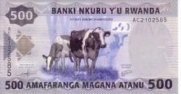 RWANDA  500 Francs  Daté Du 01-01-2013    ***** BILLET  NEUF ***** - Rwanda