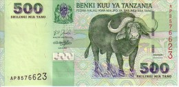 TANZANIE   500 Shilingi   Non Daté (2003)    Pick 35    ***** BILLET  NEUF ***** - Tanzania