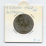 Portogallo - 1928 - 1 Escudo - Argento - (FDC4598) - Portogallo