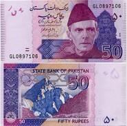 PAKISTAN        50 Rupees        P-47j         2016        UNC  [sign. Ashraf M. Wathra] - Pakistan