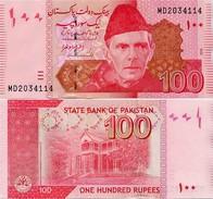 PAKISTAN        100 Rupees        P-48k         2016        UNC  [sign. Ashraf M. Wathra] - Pakistan