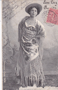"""ARTISTE DE THÉÂTRE. CPA. """" SEN LUZ CHAVITA """" .. ANNÉE 1904 - Entertainers"""