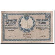 Finlande, 5 Markkaa, 1909, KM:20, TB - Finlande