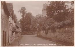 England Warwick Mill Street And Caesar's Tower Photo - Warwick