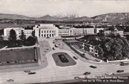 Switzerland Geneve Le Palais des Nations vue sur la Ville et le