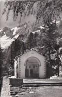 Switzerland Saas-Fee Kapelle Zur Hohen Stiege Mit Taeschhorn Und Dom 1959 Photo - VS Valais