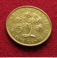 Seychelles 5 Cents 1981 FAO F.a.o. Unc - Seychelles