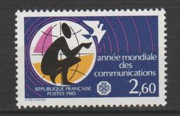 """FRANCE ,N°2260 """" ANNÉE MONDIALE DES  COMMUNICATIONS"""" - Nuevos"""