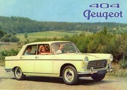 Peugeot 404 Berline  -  1962  -  CPM - Voitures De Tourisme