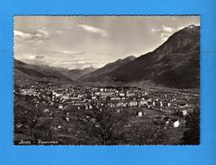 AOSTA - Panorama - Sullo Sfondo Stabilimento COGNE .  Non Viaggiata.  Vedi Descrizione.  (F) - Aosta