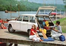 Peugeot 204 Break  -  1971  -  Manufacturer's Advertising Postcard - Carte Postale - PKW