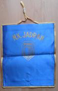NK JADRAN, POREC, Croatia FOOTBALL CLUB, SOCCER / FUTBOL / CALCIO,  OLD PENNANT, SPORTS FLAG - Uniformes Recordatorios & Misc