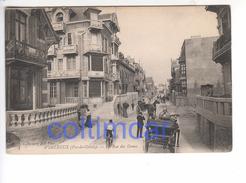 (n°487) CPA 62 WIMEREUX LA RUE DES DUNES 1908 - Autres Communes
