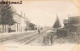 GARE DE DOCELLES-CHEMIMENIL TRAIN 88 VOSGES - France