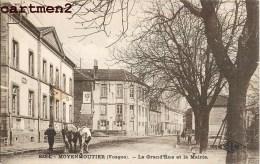 MOYENMOUTIER LA GRAND'RUE ET LA MAIRIE 88 VOSGES - France