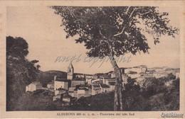 Alberona_Fg_ 800 M. S. M._Panorama Dal Lato Sud-Antica Originale_ 2 Scan- - Foggia