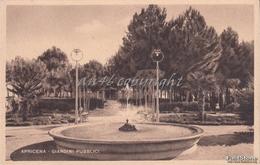 Apricena_Fg_Giardini Pubblici_Vg Il 19/8/1952-Antica Originale_ 2 Scan- - Foggia