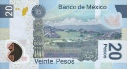 MEXICO P. 122eS 20 P 2012 UNC - Mexique
