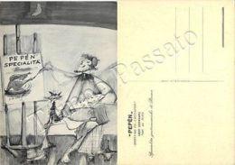 Cartolina Di Chiavari, Pubblicità Ristorante (specialità Di Parma) - Genova - Genova