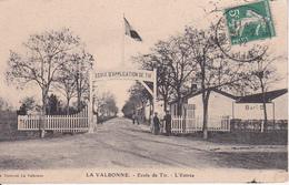CPA La Valbonne - Ecole De Tir - L'Entrée - 1912 (28743) - Grasse