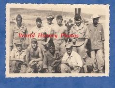 Photo Ancienne- Guerre D'Algérie - Portrait De Militaire , Régiment à Identifier - Colonial ? 2e Artillerie ? Black Noir - Krieg, Militär