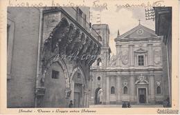 Brindisi_Duomo E Loggia Antica Balsamo_Vg Il 6/7/1942 _-Antica Originale_ 2 Scan- - Brindisi