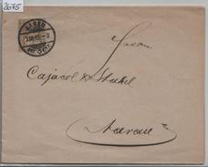1882 Sitzende Helvetia/Helvétie Assise Nr. 44/36 2c - Stempel: Aarau (Lagerhäuser Der Centralschweiz) 3.III.82 - 1862-1881 Sitzende Helvetia (gezähnt)