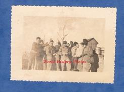 Photo Ancienne - Guerre D'Algérie - Soldat Français à La Corvée De Patates Régiment à Identifier - Colonial Cuisine Cook - Krieg, Militär