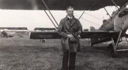 France Aviation Capitaine Dantin Avion Nieuport Delage? Ancienne Photo 1930