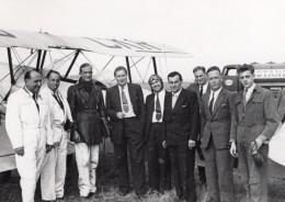 France Aviation Avions Et Groupes Divers Lot De 14 Anciennes Photos 1930's - Aviation