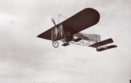 France Aviation Monoplan Bleriot En Vol Ancienne Carte Photo Marque Etoile 1908