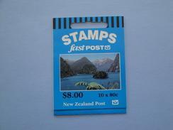 1996 Nouvelle Zélande - Yvert  C 1496  **  Paysages Scott 1405 A   Michel C 1570   SG SB 84 Fastpost - Carnets