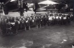 France Aviation Militaire Potez Avions Banquet Defile Lot De 8 Anciennes Photos 1930