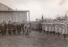 France Le Bourget Retour Du Ministre Dumesnil Aeronautique Ancienne Photo 1930