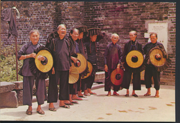 °°° 4860 - HONG KONG - VILLAGE WOMEN OUTSIDE KATHING WALLED CITY °°° - Cina (Hong Kong)