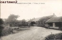 RARE CPA : DOMECY-SUR-CURE VILLARS LE LAVOIR 89 YONNE - France