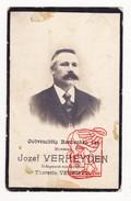DP Foto Jozef Verheyden ° Sichem Scherpenheuvel Zichem 1854 † Schaarbeek 1920 Dienst Averbode X Theresia Verbiest - Devotion Images